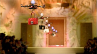 Drones Taking Over Milan Fashion Week's Runway! Dolce & Gabbana Used Them to Carry Their Exquisite Handbags
