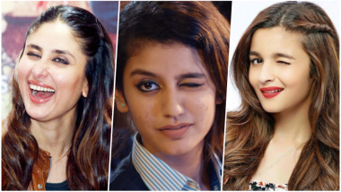 Obsessed with Priya Prakash Varrier's Wink? Here are Bollywood Actresses Whose Playful Blinks Will Tickle your Hearts