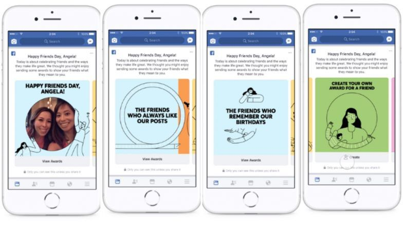 Happy Friends Day: Facebook Introduces Friends Awards in Cute Personalised Video Posts to Celebrate its 14th Birthday