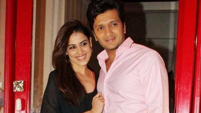 Riteish Deshmukh, Genelia D'Souza Reunite for a Special Song in Marathi Film 'Mauli'