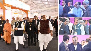 UP Investors Summit 2018: Mukesh Ambani Promises Jio in Every Village, Anand Mahindra Announces Electric Vehicle Plant, State Gets Major Boost