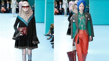 Gucci Created an Uproar in the Sikh Community: White Models Walked the Runway Wearing Turbans Showcasing Fall 2018 Collection
