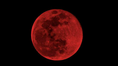 Blood Moon in July 2018 Will be The Longest Lunar Eclipse in This Century, Know Date and Time and Where to Watch