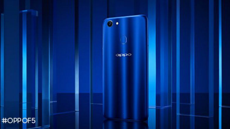 Oppo F5 Sidharth Limited Edition in Glossy Blue Colour Launched Today