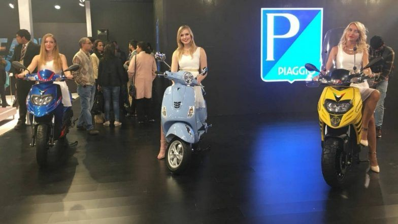Piaggio Launches Aprilia SR125 at Auto Expo 2018