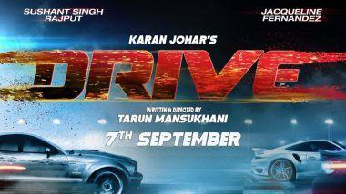 Drive: Buckle Up! Sushant Singh Rajput and Jacqueline Fernandez's Thriller to Arrive on September 7