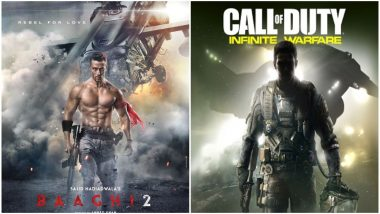 Baaghi 2 First Look: Tiger Shroff's Chiselled Body Stands Out In This Call Of Duty-Inspired Poster