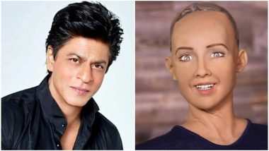 Not Just Humans, Shah Rukh Khan Makes A Fan Out Of Humanoid Sophia Too - Watch Video