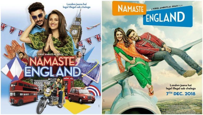 Namaste England First Look: Arjun Kapoor's Third-Time Romance With Parineeti Chopra Takes Flight To Queen's Land