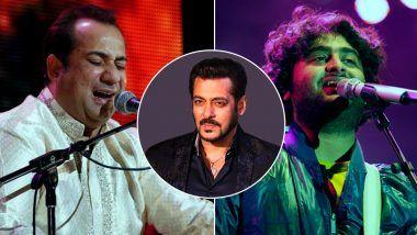 Salman Khan Once Again Rejects Arijit Singh's Song Over Rahat Fateh Ali Khan?