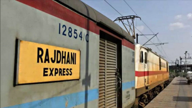 Rajdhani Express to Run at 160 kmph on All Routes, Indian Railways Conducts Successful Trials With WAP-5 Engine