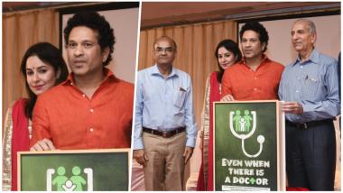 Sachin and Anjali Tendulkar Launch Book On Child Health Care