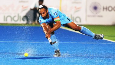 Sardar Singh Retires: Here's a Look at Some Stats From Former Hockey Indian Captain's Career