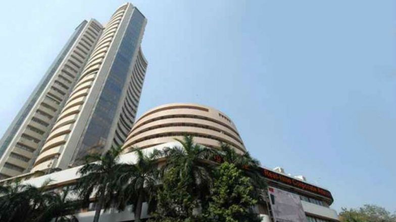 Sensex Rose Over 26 Points, Nifty Too Closed Up at 10,948.30 ; TCS Spurts 5.47 Per Cent on Q1 Show
