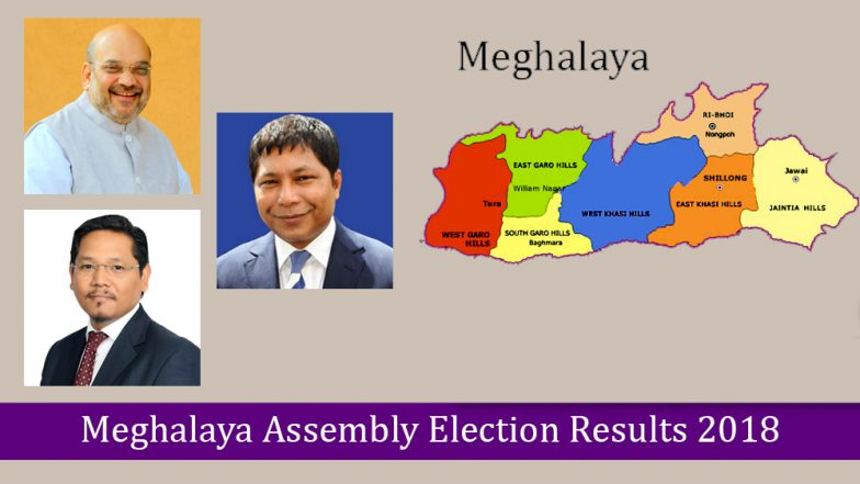 Congress set to form Govt in Meghalaya!