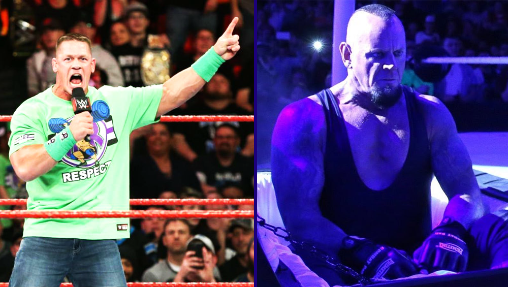 The Undertaker Returns At Wrestlemania 34 To Answer John Cena's Challenge