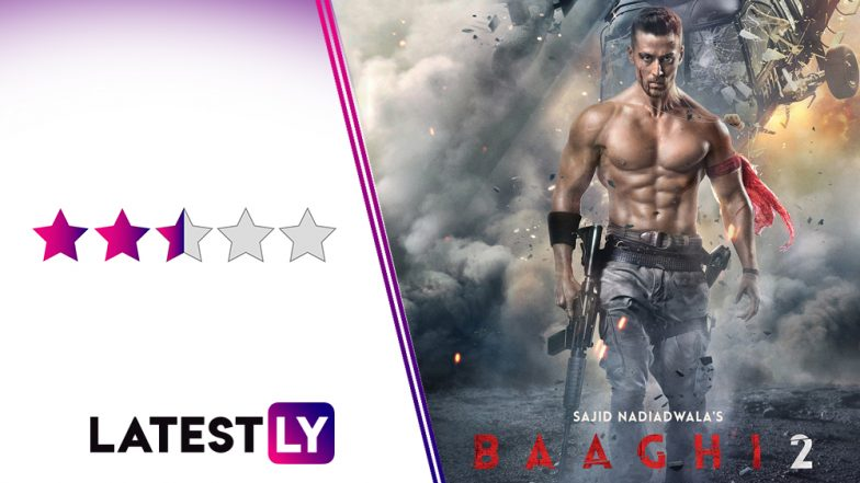 Baaghi 2 Movie Review: Tiger Shroff On God Mode is Treat to Watch For All His Fans