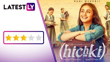 Hichki Movie Review: Rani Mukerji Delivers a Hiccup-Free, Class Act in This Heartwarming, Inspiring Tale