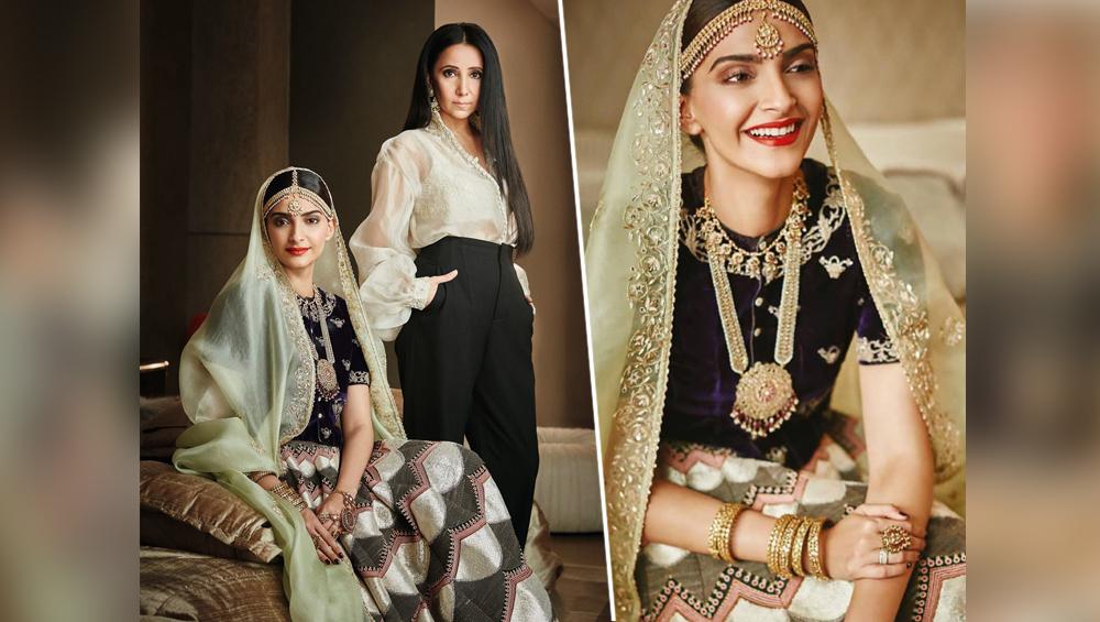Image result for sonam kapoor in bridal avatars