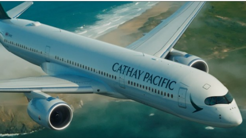 Hong Kong Airlines Cathay Pacific Spells Own Name Wrong on Plane