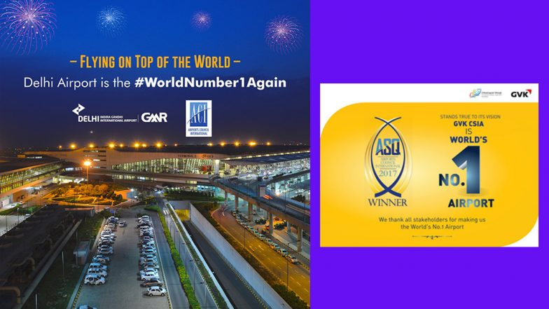Mumbai, Delhi airports rated world's best in survey