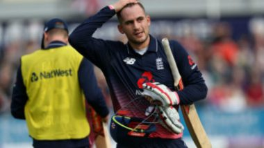Alex Hales Goes on Indefinite Break for 'Personal Reasons' Ahead of ICC World Cup 2019