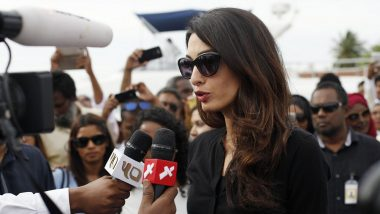 Human Rights Lawyer Amal Clooney To Defend Detained Reuters Journalists In Myanmar