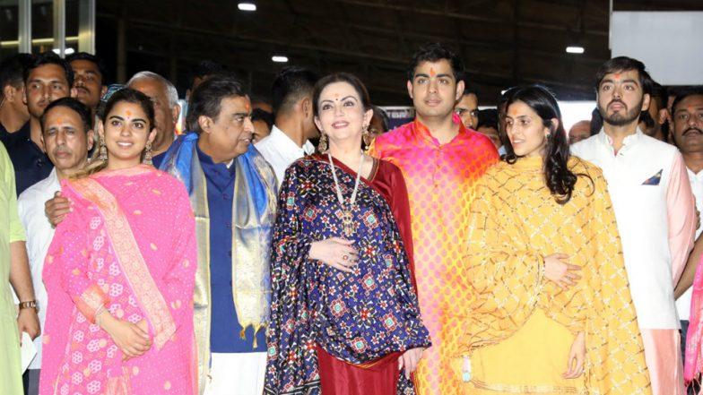 Mukesh Ambani's son to wed Shloka Mehta in Dec