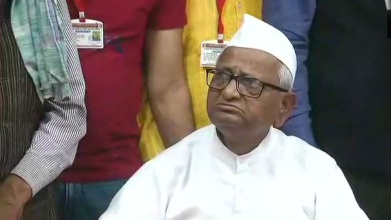 Anna Hazare Admitted to Ahmednagar Hospital After His Health Deteriorates