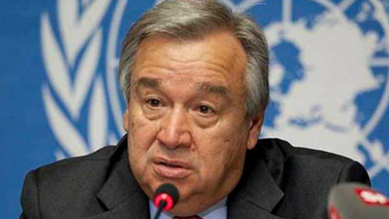UN Chief Antonio Guterres Makes Climate Change Plea in Cyclone-Hit Mozambique