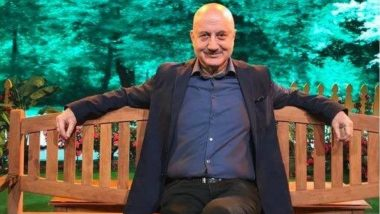 Anupam Kher: 'Sometimes the Best Way to Reach Success Is to Celebrate Failure'