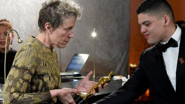Frances McDormand Left Crying After Man Stole Her Best Actress Trophy at Oscars 2018