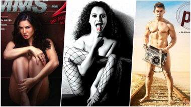 Kangana Ranaut, Aamir Khan & Sunny Leone in The List of Bollywood Stars Who Appeared Nude on Movie Posters