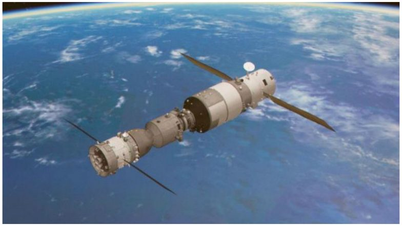 Out-of-control Chinese space station set to crash land on earth