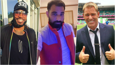 Mohammed Shami's Wife Hasin Jahan Accuses Him of Infidelity: Other Cricket Personalities Caught in Alleged Sex Scandals