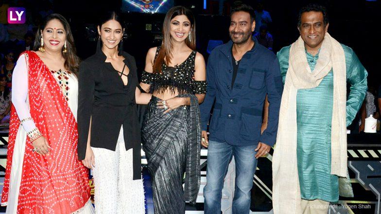 Ileana D'Cruz And Ajay Devgn Promote Their Film Raid On Super Dancer