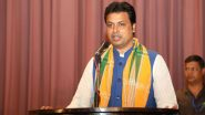 Tripura CM Biplab Kumar Deb Isolates Self as Two Family Members Test COVID-19 Positive, Awaits His Results