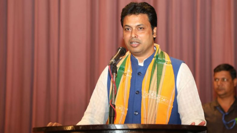 Crime Against Women in Tripura Down Under BJP-IPFT Government : CM Biplab Kumar Deb