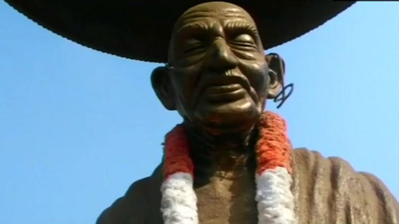 Mahatma Gandhi's Statue Damaged in Kannur One Man Arrested Police Denies Political Relation