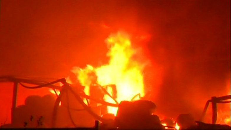 14 injured after fire breaks out at Tarapur industrial area in Maharastra