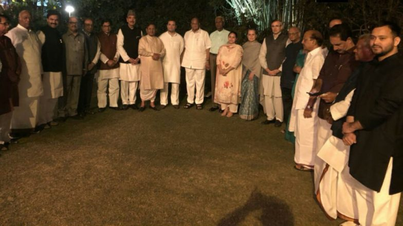 Game On 2019: Sonia's dinner brings 20 Opposition party leaders together