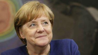 Angela Merkel, German Chancellor, Receives First Jab of AstraZeneca COVID-19 Vaccine