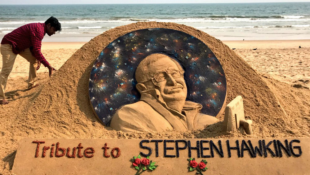 Stars mourn Stephen Hawking: 'Thank you for inspiring us'