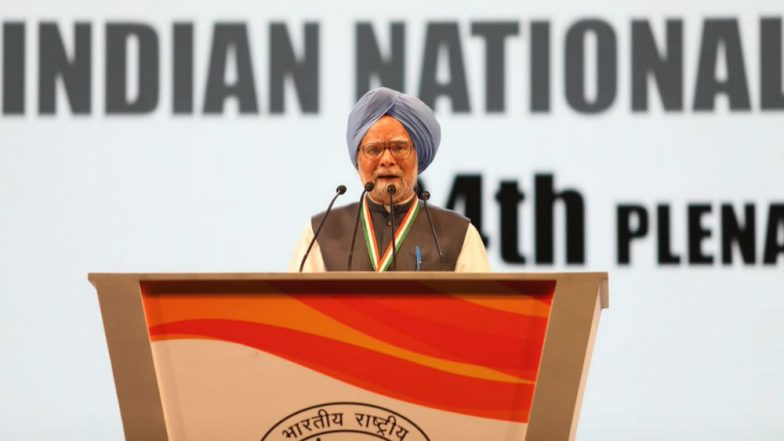 Modi resorting to 'jumla' over farm income, says Manmohan Singh