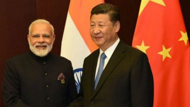 PM Narendra Modi Congratulates Xi Jinping Over a Phone Call For His Re-Election as Chinese President