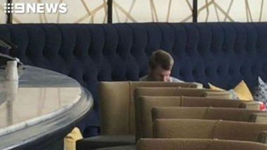 David Warner Found 'Enjoying' Champagne Post Ball Tampering Scandal, Teammates Want him OUT of Team Hotel