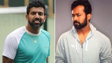 Leander Paes and Rohan Bopanna Paired Up For Davis Cup But What About the Bad Blood Between India's Top Tennis Stars!
