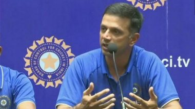 Rahul Dravid No Longer to Serve as India A and U19 Head Coach