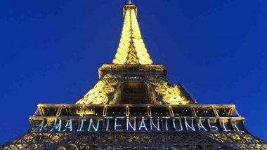 Eiffel Tower Illuminates in a Powerful Message on International Women's Day 2018