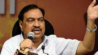 Eknath Khadse Joins NCP; Here's A Look at The Career of BJP's Erstwhile Maharashtra Face